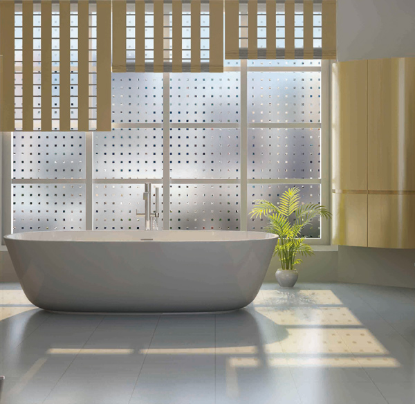 Stunning fenetre salle de bain depoli images design for Sticker occultant fenetre